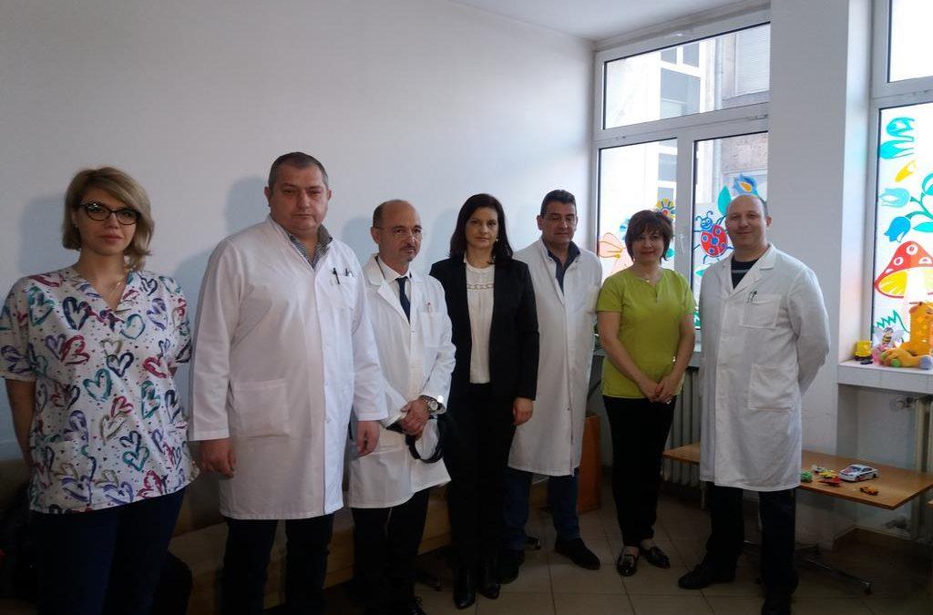 """Над 150 деца преглеждат специалисти от """"Пирогов"""" в МБАЛ – Смолян"""
