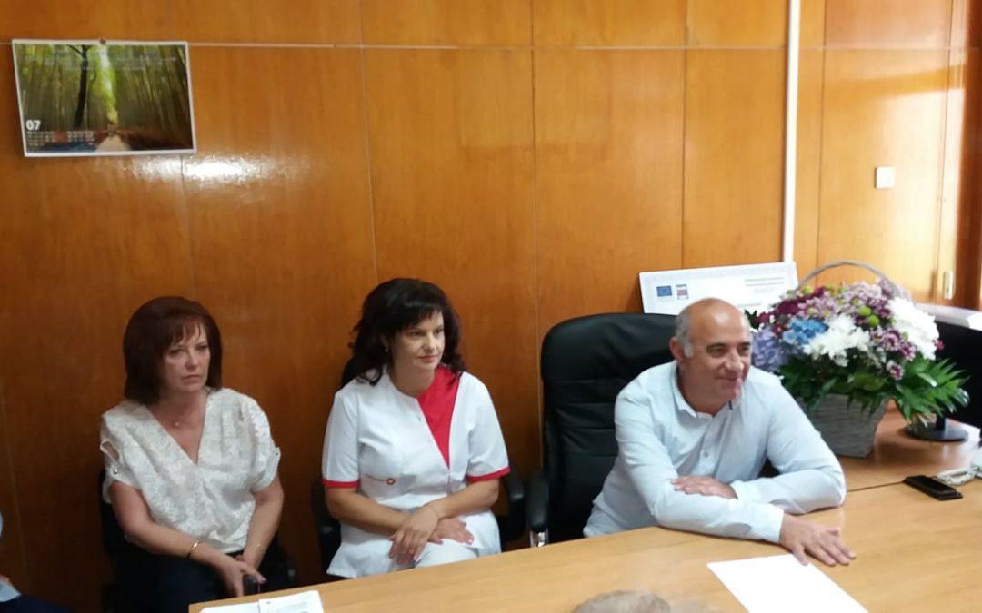 """МБАЛ """"Д-р Братан Шукеров"""" отбеляза една година от създаването на Сектора по инвазивна кардиология"""