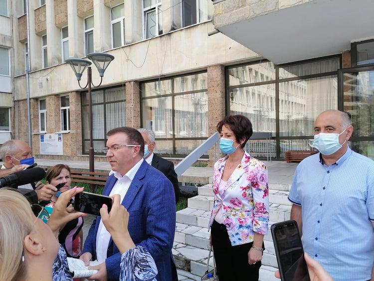 Министърът на здравеопазването проф. Костадин Ангелов: Организацията в МБАЛ – Смолян е на изключително ниво