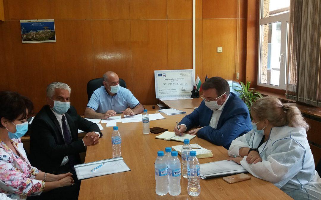 Министърът на здравеопазването се срещна с медиците от първа линия и синдикалисти в Смолян