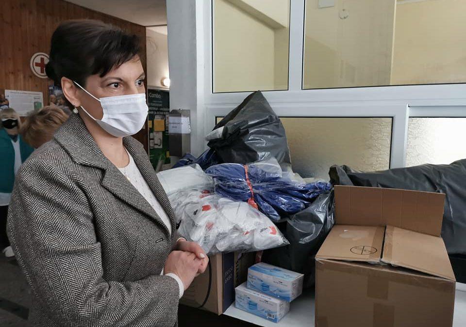 Д-р Даниела Дариткова направи дарение на МБАЛ – Смолян